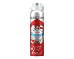 Image du produit Old Spice - Antisudorifique et désodorisant invisible en vaporisateur pour hommes, 132 ml, Wolfthorn