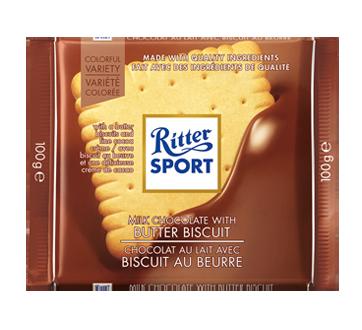 Chocolat au lait avec biscuit au beurre, 100 g