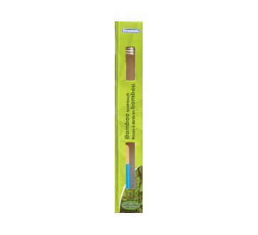 Brosse à dents en bambou, 1 unité, souple