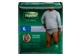 Vignette du produit Depend - Fit-Flex sous-vêtement d'incontinence pour hommes, 15 unités, très grand, gris