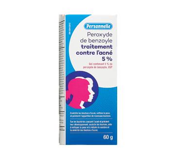 Image du produit Personnelle - Peroxyde de benzoyle traitement contre l'acné 5 %, 60 g