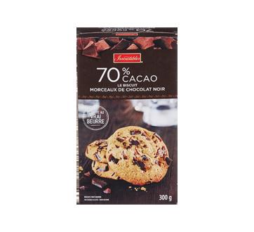 Biscuits aux morceaux de chocolat noir , 300 g