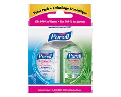 Image du produit Purell Avancé - Gel antiseptique pour les mains, 2 x 59 ml