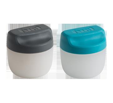 Image 2 du produit Trudeau - Ensemble à condiments, 2 unités, bleu et gris