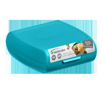 Boîte à sandwich, 1 unité, bleu
