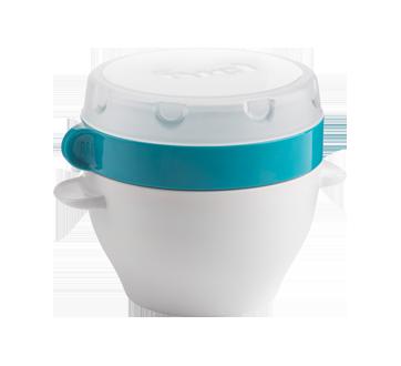 Image 2 du produit Trudeau - Bol repas avec compartiment à ingrédients secs, 470 ml, bleu