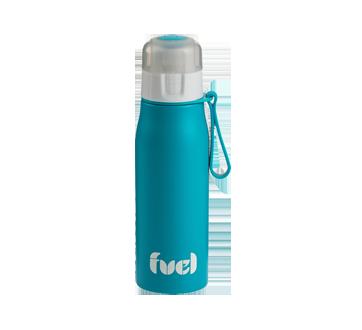 Image 2 du produit Trudeau - Bouteille en acier inoxydable Fuel , 500 ml, bleu