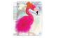 Vignette du produit Danawares - Cahier de notes brillant flamant rose, 1 unité