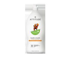 Image du produit Attitude - Liquide vaisselle, zeste d'agrumes, 700 ml