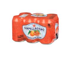 Image du produit San Pellegrino - Orange sanguine, 6 x 330 ml