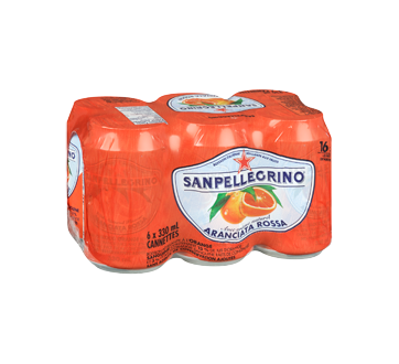 Image 2 du produit San Pellegrino - Orange sanguine, 6 x 330 ml