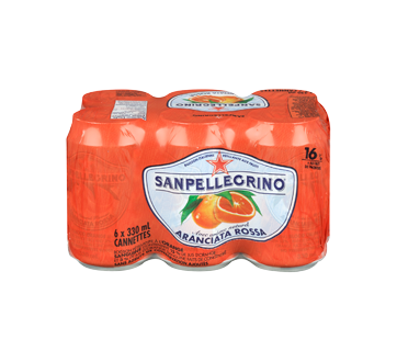 Image 3 du produit San Pellegrino - Orange sanguine, 6 x 330 ml
