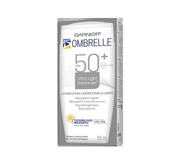 Ultra Light Advanced lotion solaire extra-légère, 120 ml, FPS 50+
