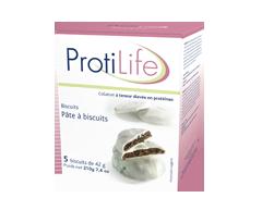 Image du produit ProtiLife - Collation biscuits, 5 x 40 g, pâte à biscuits