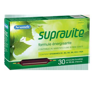 Image du produit Personnelle - Supravite formule énergisante, 30 x 10 ml
