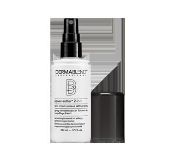 Image 2 du produit Dermablend Professional - Power Setter spray rafraîchissant et fixateur de maquillage 2 en 1, 100 ml