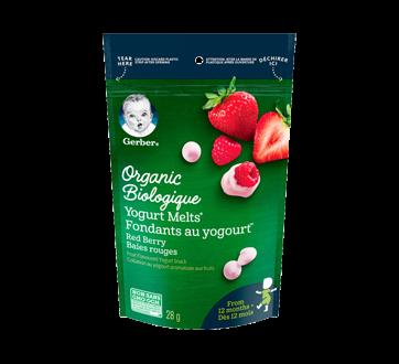 Fondants au yogourt biologique dès 12 mois, 28 g