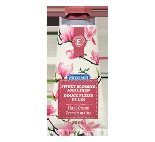 Crème à mains, douce fleur et lin, 50 ml