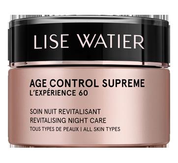 Age Control Supreme L'Expérience 60 soin nuit revitalisant, 50 ml