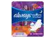 Vignette du produit Always - Serviettes hygiéniques de nuit parfumées avec ailes, taille4, 10 unités