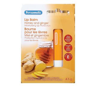 Baume pour les lèvres, miel et gingembre, 4,5 g