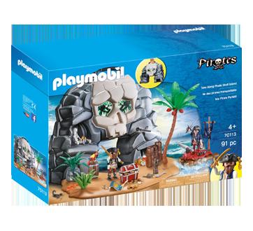Coffret vaisselle enfant Playmobil pirate