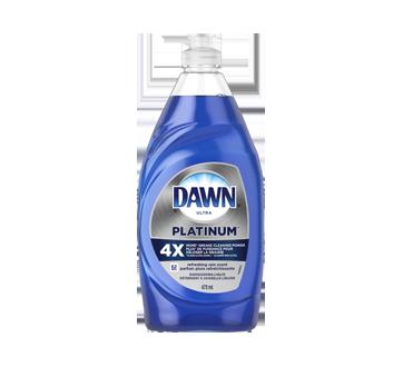 Ultra Platinum détergent à vaisselle liquide, 479 ml, pluie rafraîchissante