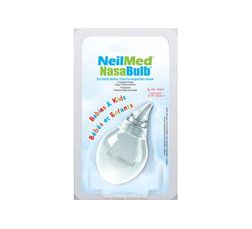 Image du produit NeilMed - NasaBulb pour la congestion nasale, bébés et enfants, 1 unité