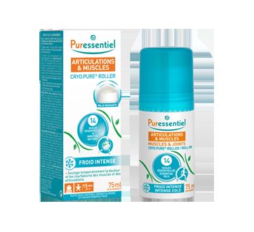 Image du produit Puressentiel - Cyo Pure roller aux 14 huiles essentielles, froid intense, 75 ml
