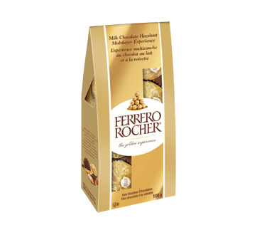 Ferrero Rocher, Fins chocolats à la noisette, 100 g