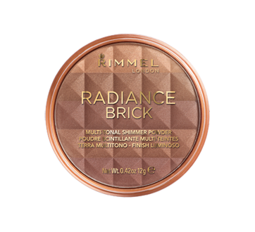 Radiance Brick poudre scintillante multi-teintes, 12 g