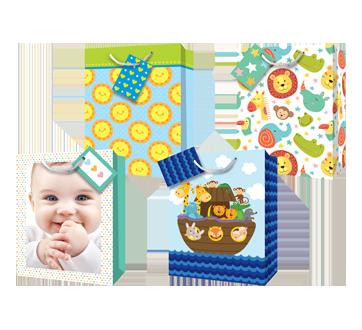 Sacs-cadeaux, bébé, 12 unités, jumbo