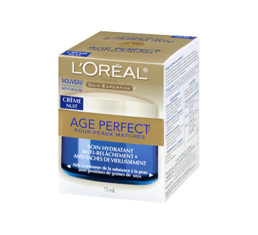 Age Perfect crème hydratante nuit, 75 ml