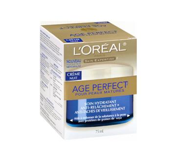 Image 2 du produit L'Oréal Paris - Age Perfect crème hydratante nuit, 75 ml