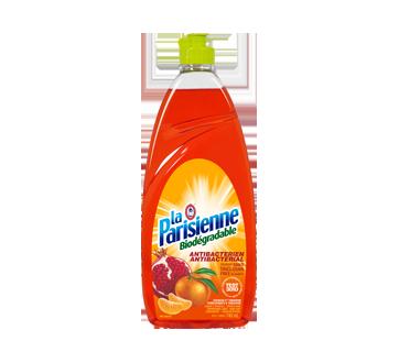 Liquide à vaisselle et savon à mains biodégradable et antibactérien, 740 ml, grenade et tangerine