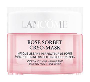 Image 2 du produit Lancôme - Rose Sorbet Cryo-Mask masque lissant perfecteur de pores, 50 ml