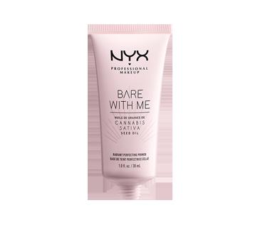 Image 2 du produit NYX Professional Makeup - Bare With Me Cannabis Sativa Seed Oil base de teint perfectrice éclat, 1 unité