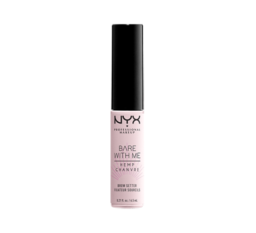 Image 1 du produit NYX Professional Makeup - Bare with Me Cannabis fixatif de sourcils, 1 unité, Clear