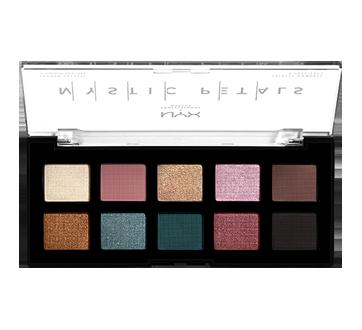 Image 2 du produit NYX Professional Makeup - Mystic Petals palette d'ombres à paupières, 1 unité, Dark Mystic