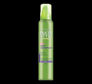 Fructis Style - Mousse, 193 g, curls construct