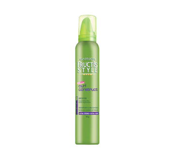 Fructis Style - Mousse, 193 g, curls construct