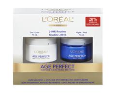 Image du produit L'Oréal Paris - Age Perfect crème hydratante, jour et nuit, 2 x 75 ml