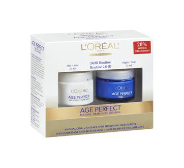 Image 2 du produit L'Oréal Paris - Age Perfect crème hydratante, jour et nuit, 2 x 75 ml