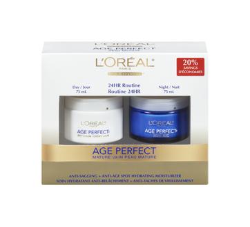 Image 3 du produit L'Oréal Paris - Age Perfect crème hydratante, jour et nuit, 2 x 75 ml