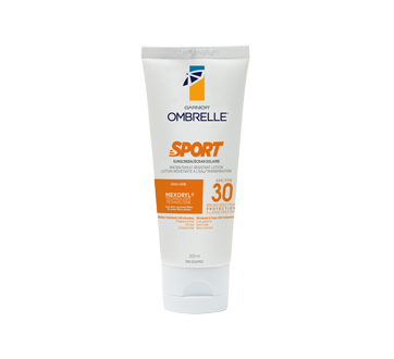 Ombrelle Sport lotion protection solaire, 200 ml, FPS 30