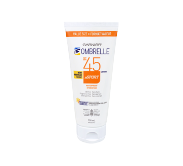 Ombrelle Sport lotion protection solaire, 200 ml, FPS 45