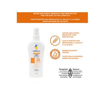 Image 3 du produit Ombrelle - Lotion solaire transparente en vaporisateur sport, 145 ml, FPS 30
