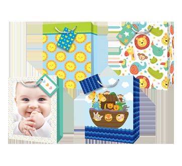 Sacs-cadeaux, bébé, 12 unités, Grand
