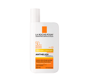 Anthelios Mineral lotion ultra-fluide teintée FPS 50, 50 ml