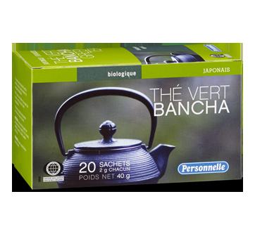 Image 1 du produit Personnelle - Thé vert bancha, 20 unités, biologique